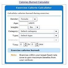 weight calorie calculator 9