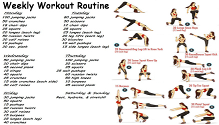Workout Routines For Weight Loss 6
