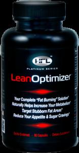 Black Lean Optimizer bottle
