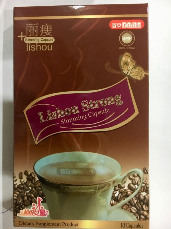 Lishou strong slimming capsule