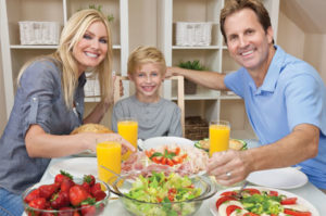 A healthy diet plan for children and parents