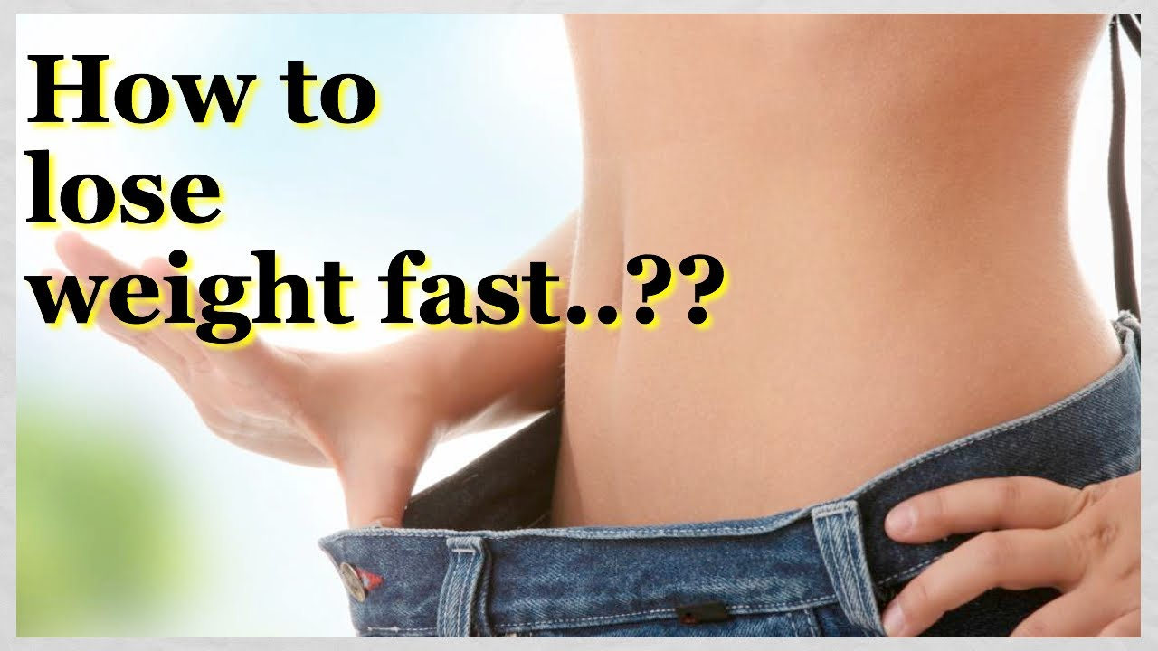 diet lose weight fast