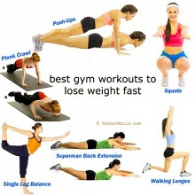 how to do the good workouts to lose weight fast and safe