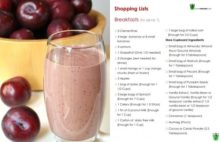 smoothie diet plan