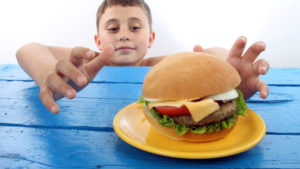 Children obesity and weight loss ticker