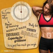 A Young Woman and a Weight Loss Percentage Calculator