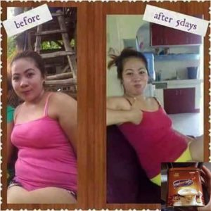 lishou slimming coffee before and after