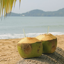 Using of coconut water for wholesome smoothie recipes to lose weight