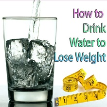 how much water to drink to lose weight 9