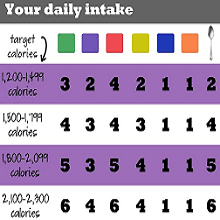 daily calorie intake to lose weight 9