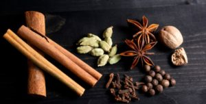 Cinnamon and other yummy spices