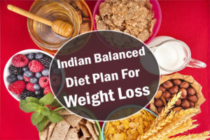 Indian weight reduction diet program