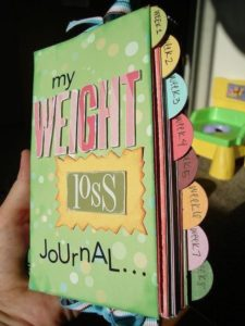 It's useful to start a weight loss journal!