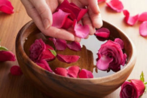 Rose petal water is unusual but really worth trying!