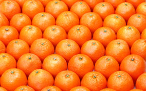 Bright sweet oranges
