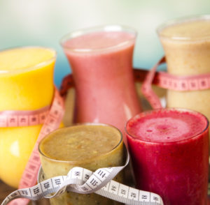 Tasty slimming shakes