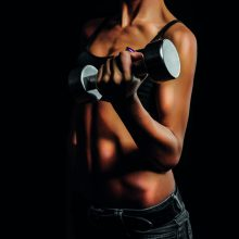Lifting weights for weight loss and training your body