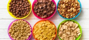 Eat cereals for healthy weight loss