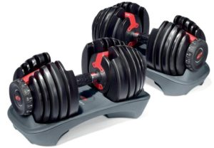 Heavy dumbbells for workouts