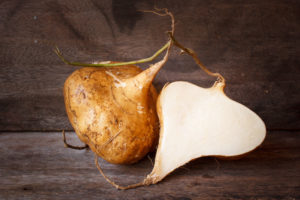 Jicama or yam is one of the foods that help in weight loss