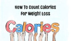 How to count calories and consume less of them?